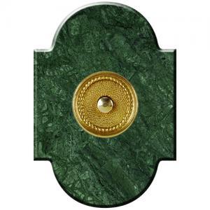 Marbre Chapeau 100x145 collerette Directoire Vert